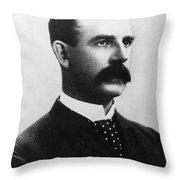 Albert Goodwill Spalding Throw Pillow