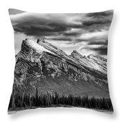 Alberta Rockies Throw Pillow