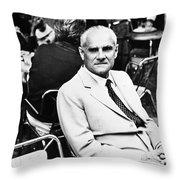 Alberto Moravia (1907-1990) Throw Pillow by Granger