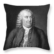 Albrecht Von Haller Throw Pillow