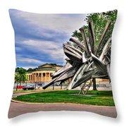 Albright Knox Art Gallery Throw Pillow