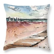 Albufera De Valencia 01  Throw Pillow
