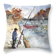 Albufera De Valencia 05 Throw Pillow