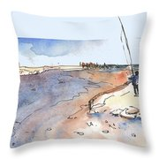 Albufera De Valencia 08 Throw Pillow
