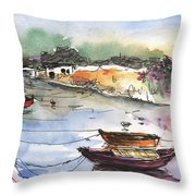 Albufera De Valencia 11 Throw Pillow