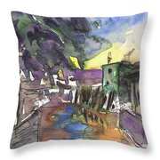 Albufera De Valencia 24 Throw Pillow