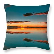 Albufera Panoramic View. Spain Throw Pillow