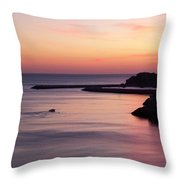 Albuferian Sunset Throw Pillow