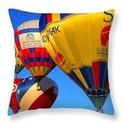 Albuquerque Balloon Festival Throw Pillow