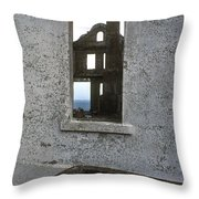 Alcatraz - Windows Throw Pillow by Paul W Faust -  Impressions of Light