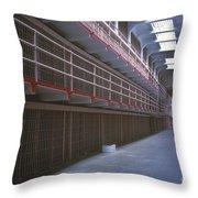 Alcatraz Awaits Throw Pillow