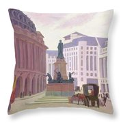 Aldwych  Throw Pillow