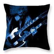 Doubleneck Spokane 1978 Blue Throw Pillow