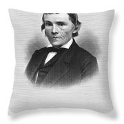 Alexander H. Stephens Throw Pillow