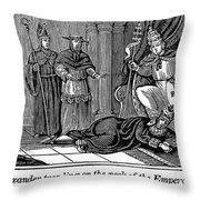 Alexander IIi (d. 1181) Throw Pillow