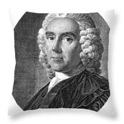 Alexander Monro, Primus, Scottish Throw Pillow