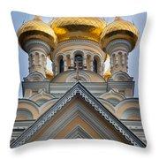 Alexander Nevski Church Throw Pillow