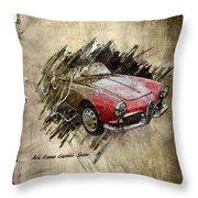Alfa Romeo Throw Pillow