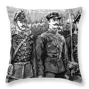 Alfred Dreyfus (1859-1935) Throw Pillow by Granger