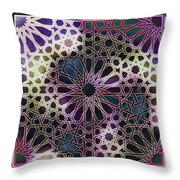 Alhambra Pattern Throw Pillow