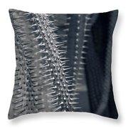 Alien Encounter Throw Pillow