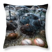Alien Lifeform Throw Pillow