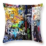 Alien Suit 1 Throw Pillow