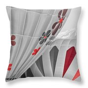 All About Red Throw Pillow