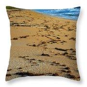 All Beach Throw Pillow