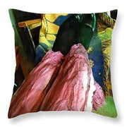 All Danced Out Throw Pillow