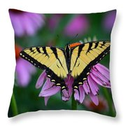 All Fanned Out Throw Pillow
