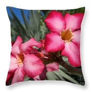 All Glam'd Up Throw Pillow