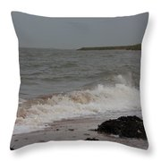 All Hallows Wave Throw Pillow