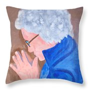 All In The Mind Throw Pillow