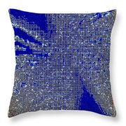 All Insects Welcome Throw Pillow