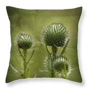 All Prickles And Stings Throw Pillow