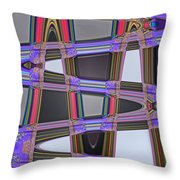 All Roads Lead Throw Pillow