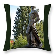 All Sparty Throw Pillow