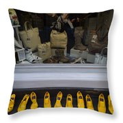 All Styles Available In Yellow Throw Pillow