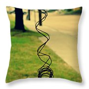 All Tangled Up In You Throw Pillow