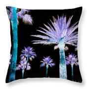 All The Palms Throw Pillow