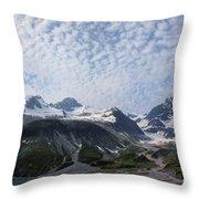 Alluvial Deposits Throw Pillow