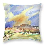 Almeria Region In Spain 01 Throw Pillow