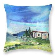 Almeria Region In Spain 02 Throw Pillow