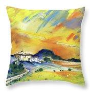 Almeria Region In Spain 03 Throw Pillow