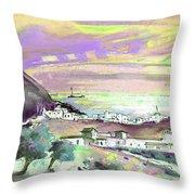 Almeria Region In Spain 04 Throw Pillow