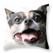Almost A Jack Russell Throw Pillow