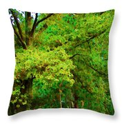 Almost Fall Throw Pillow