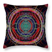 Almost Mandala Throw Pillow