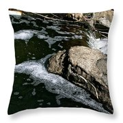Almost Over Throw Pillow